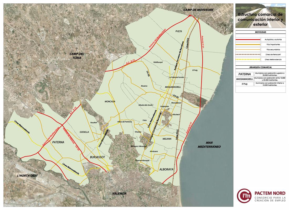Circuito Horta Nord : L horta nord para ti valencia turismo información sobre